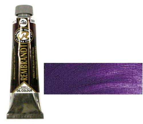 レンブラント 油絵具9号(40ml) 568パーマネントブルーバイオレット