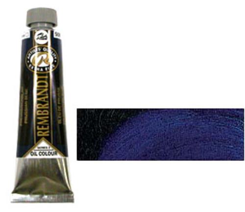 レンブラント 油絵具9号(40ml) 508プルシャンブルー