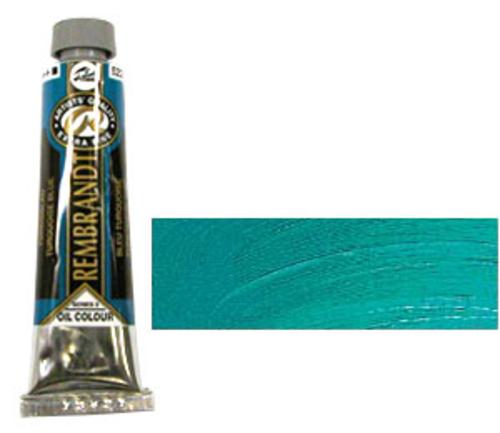 レンブラント 油絵具9号(40ml) 522ターコイズブルー