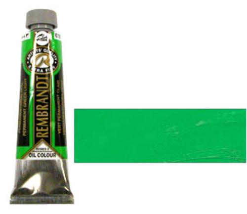レンブラント 油絵具9号(40ml) 618パーマネントグリーンライト