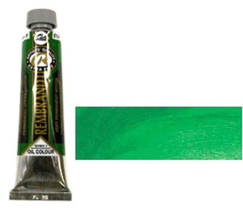 レンブラント 油絵具9号(40ml) 614パーマネントグリーンミディアム