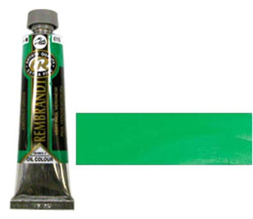 レンブラント 油絵具9号(40ml) 615エメラルドグリーン