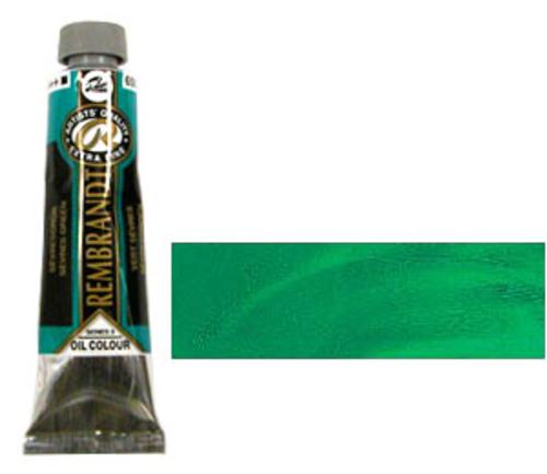 レンブラント 油絵具9号(40ml) 650セーブルスグリーン