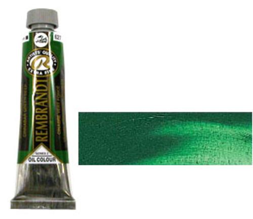 レンブラント 油絵具9号(40ml) 627シナバーグリーンディープ