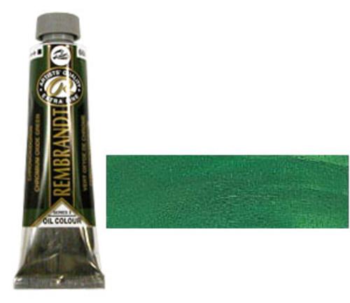 レンブラント 油絵具9号(40ml) 668クロミウムオキサイドグリーン