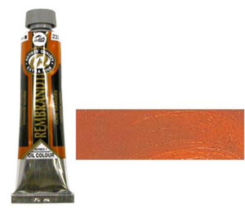 レンブラント 油絵具9号(40ml) 232オレンジオーカー