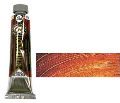 レンブラント 油絵具9号(40ml) 273トランスペアレントオキサイドオレンジ