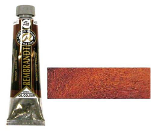 レンブラント 油絵具9号(40ml) 426トランスペアレントオキサイドブラウン