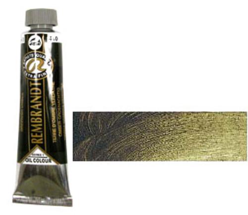 レンブラント 油絵具9号(40ml) 410グリニッシュアンバー