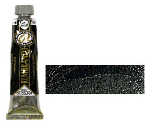 レンブラント 油絵具9号(40ml) 702ランプブラック