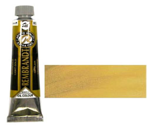 レンブラント 油絵具9号(40ml) 802ライトゴールド
