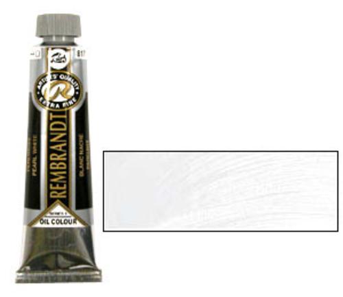レンブラント 油絵具9号(40ml) 817パールホワイト
