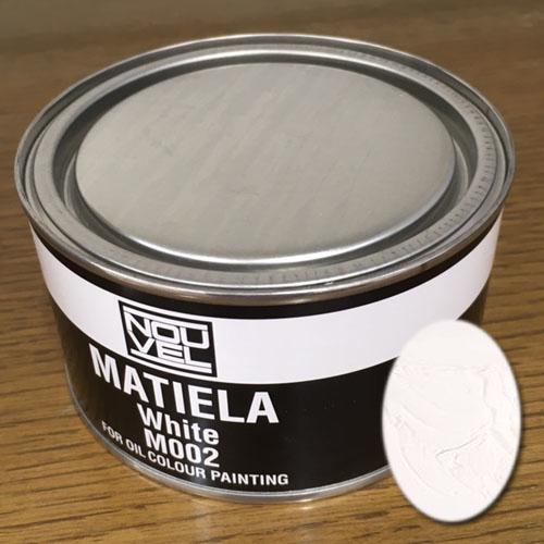 ヌーベル マチエラー330ml缶 002ホワイト