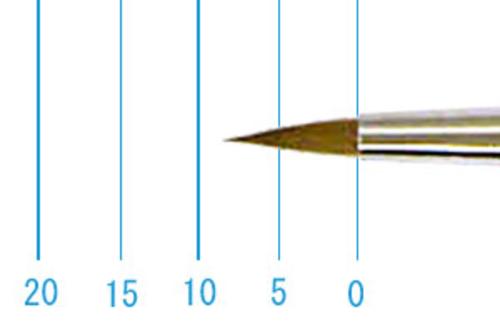 ラファエル水彩筆 8400(ラウンド点付・コリンスキー)4号
