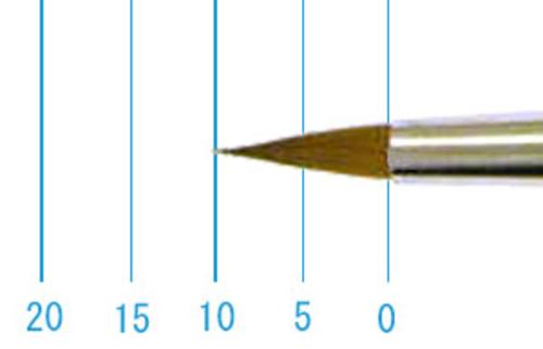 ラファエル水彩筆 8400(ラウンド点付・コリンスキー)5号