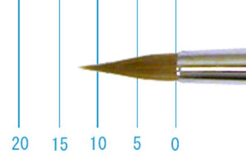 ラファエル水彩筆 8400(ラウンド点付・コリンスキー)6号