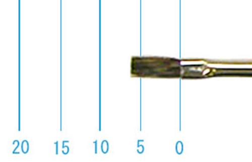 ラファエル水彩筆 916(フラット・カナダリス)2号