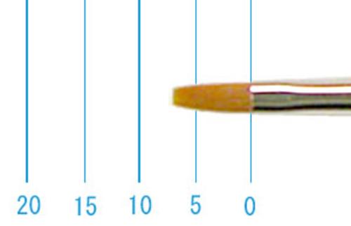 ラファエル水彩筆 8234(フラット・カーレル)2号