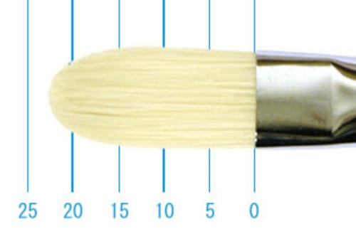 ラファエル油彩筆 3592(フィルバート・豚毛)10号