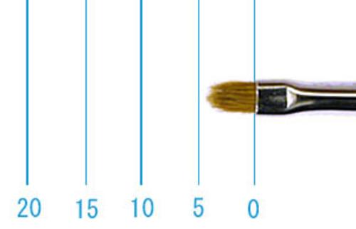 ラファエル油彩筆 8722(フィルバート・赤テン)2号