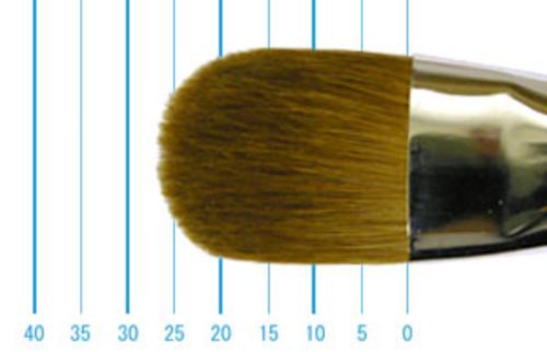 ラファエル油彩筆 8722(フィルバート・赤テン)20号