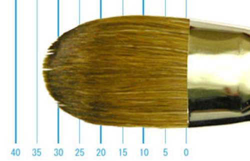 ラファエル油彩筆 8722(フィルバート・赤テン)24号