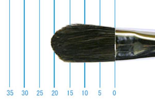 ラファエル油彩筆 8782(フィルバート・牛耳)12号