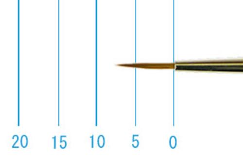 ラファエル油彩筆 862(ラウンド・赤テン)2号