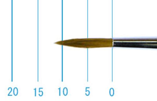 ラファエル油彩筆 862(ラウンド・赤テン)6号