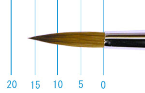 ラファエル油彩筆 862(ラウンド・赤テン)10号