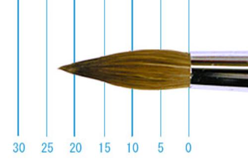 ラファエル油彩筆 862(ラウンド・赤テン)16号