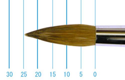 ラファエル油彩筆 862(ラウンド・赤テン)18号