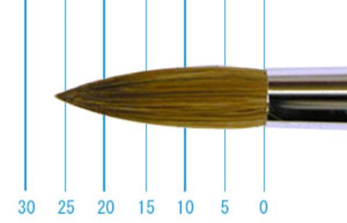 ラファエル油彩筆 862(ラウンド・赤テン)20号