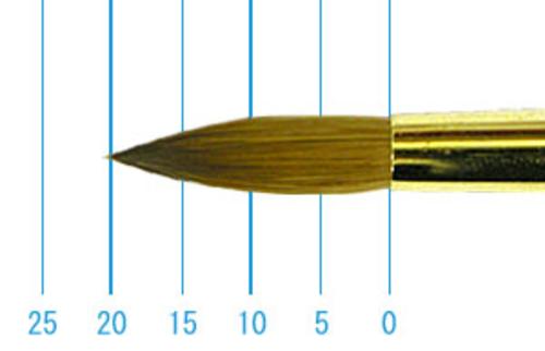 ラファエル油彩筆 1862(ラウンド・コリンスキー)14号