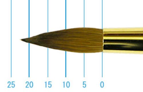 ラファエル油彩筆 1862(ラウンド・コリンスキー)16号