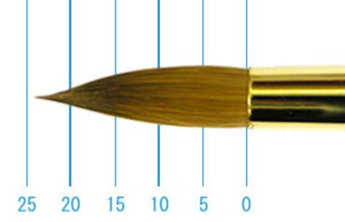 ラファエル油彩筆 1862(ラウンド・コリンスキー)18号