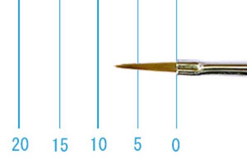 ラファエル油彩筆 8622(オブロング・赤テン)2号