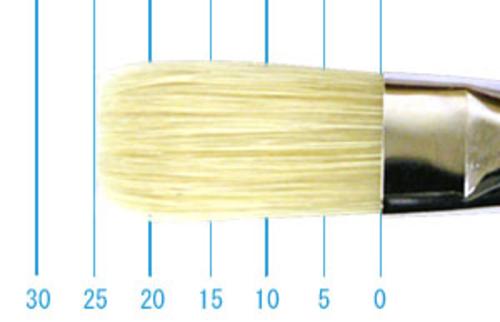 ラファエル油彩筆 359(フラット・豚毛)12号