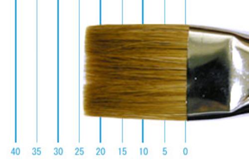ラファエル油彩筆 872(フラット短穂・赤テン)20号