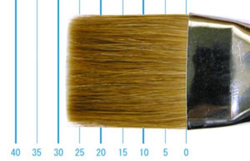 ラファエル油彩筆 872(フラット短穂・赤テン)24号