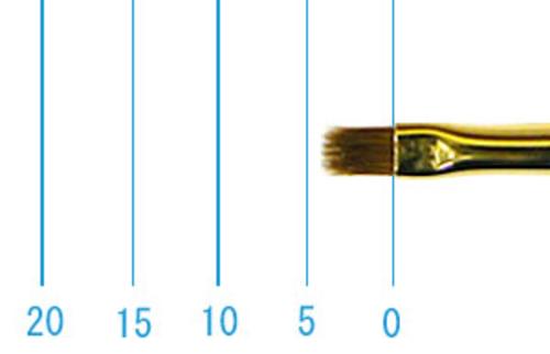 ラファエル油彩筆 1872(フラット短穂・コリンスキー)2号