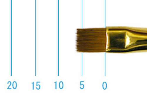 ラファエル油彩筆 1872(フラット短穂・コリンスキー)4号