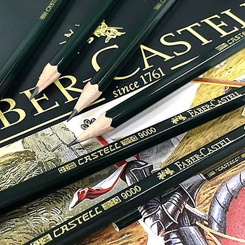 ファーバーカステル カステル9000鉛筆