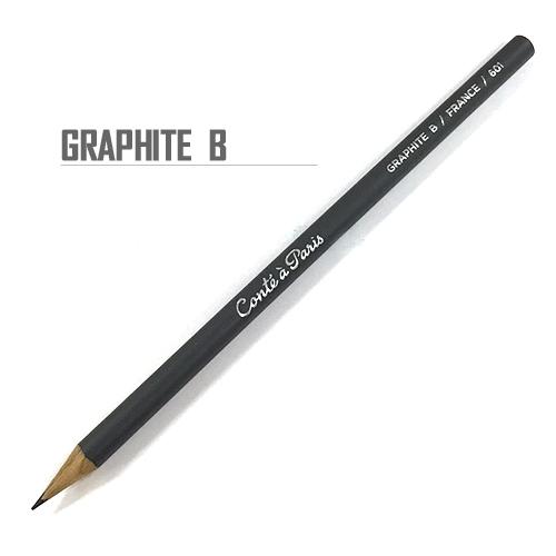 コンテ スケッチペンシル 601グラファイト[B]