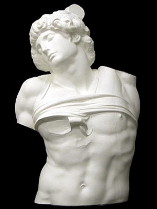 奴隷半身像(原寸大) 98cm N-013