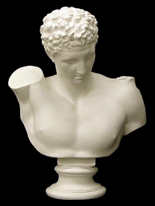 ヘルメス胸像 82cm K-105