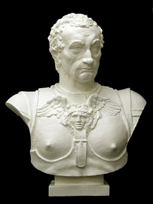 ガッタメラ胸像 85cm K-106