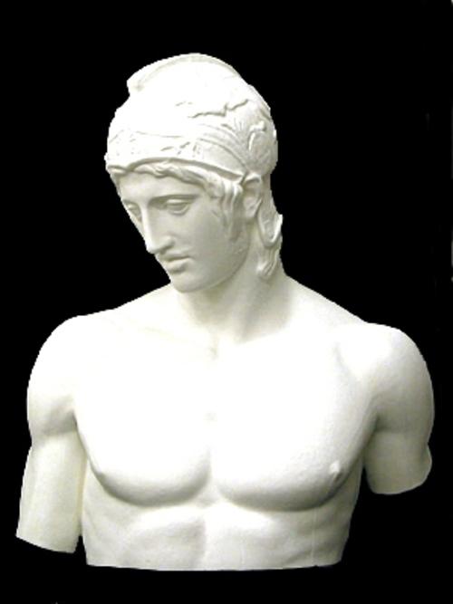 マルス胸像 76cm K-123