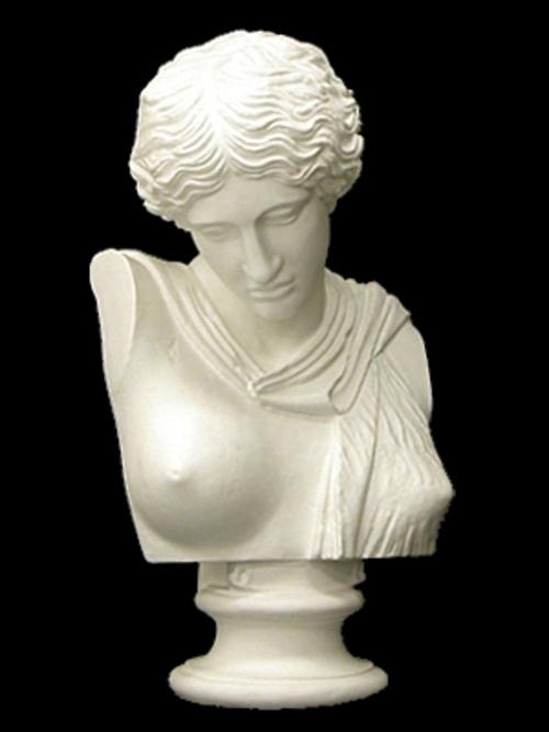 ギリシャ婦人胸像 69cm K-131