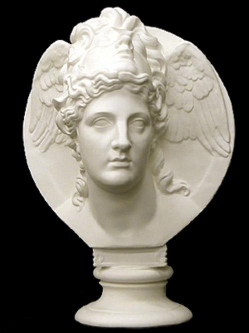 面冠女神胸像 61cm K-134